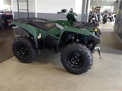 2017 Yamaha Grizzly EPS Green